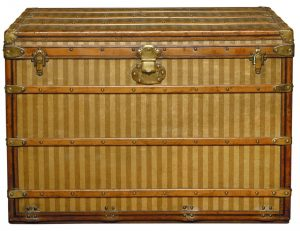 Louis Vuitton luggage trunk