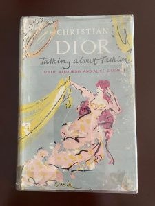 Book about Christian Dior, Talking about Fashion to Elie Ravourdin and Alice Chavane