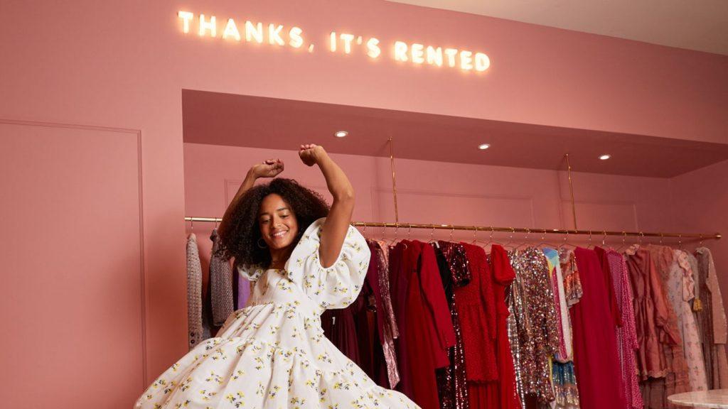 Fashion clothes rental service