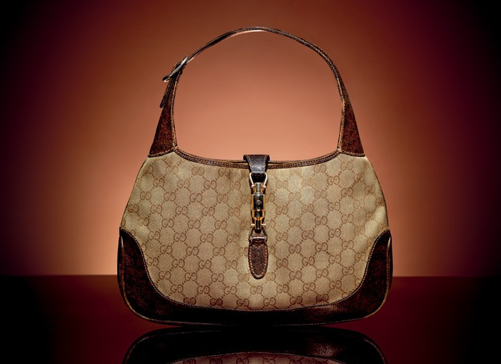 Jackie Gucci bag with the famous horse-bit symbol