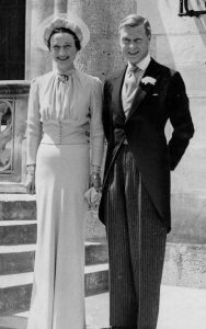 Wallis Simpson wedding dress designed by Mainbocher