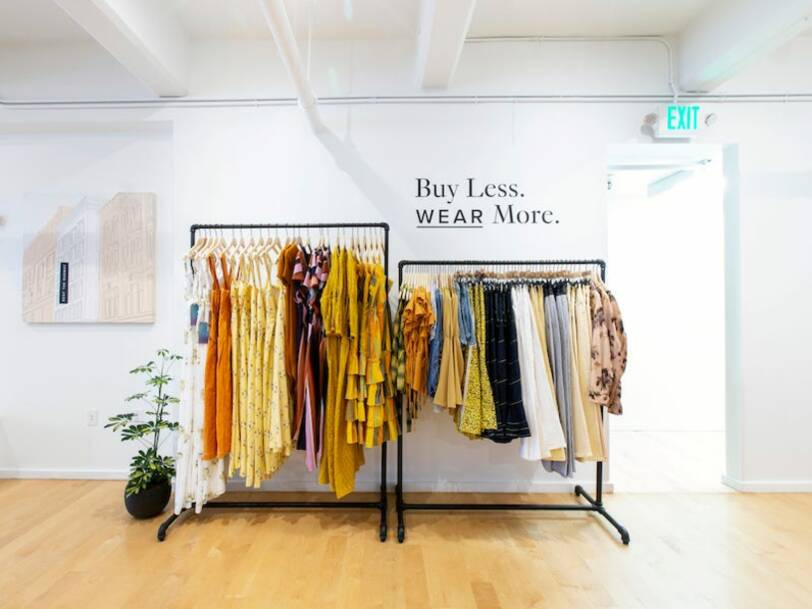 Fashion clothes rentals