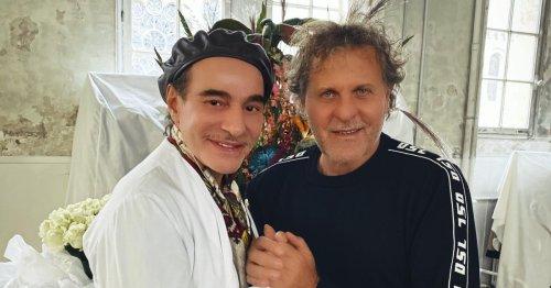 Renzo Rosso and John Galliano
