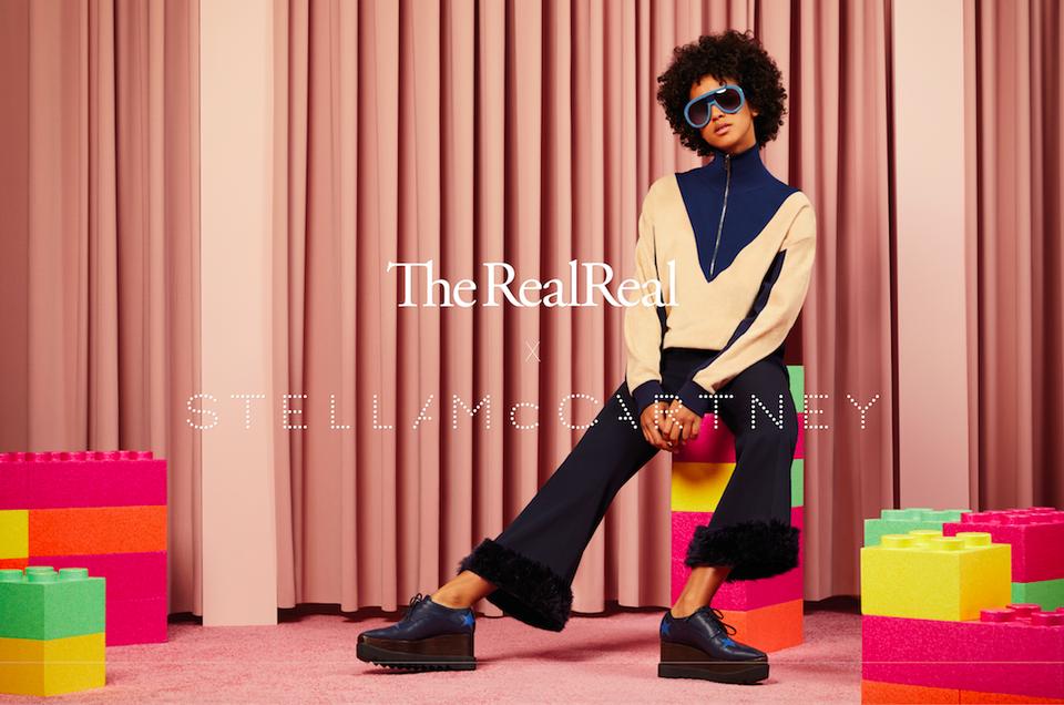Fashion is Circular, The RealReal x Stella McCartney campaign