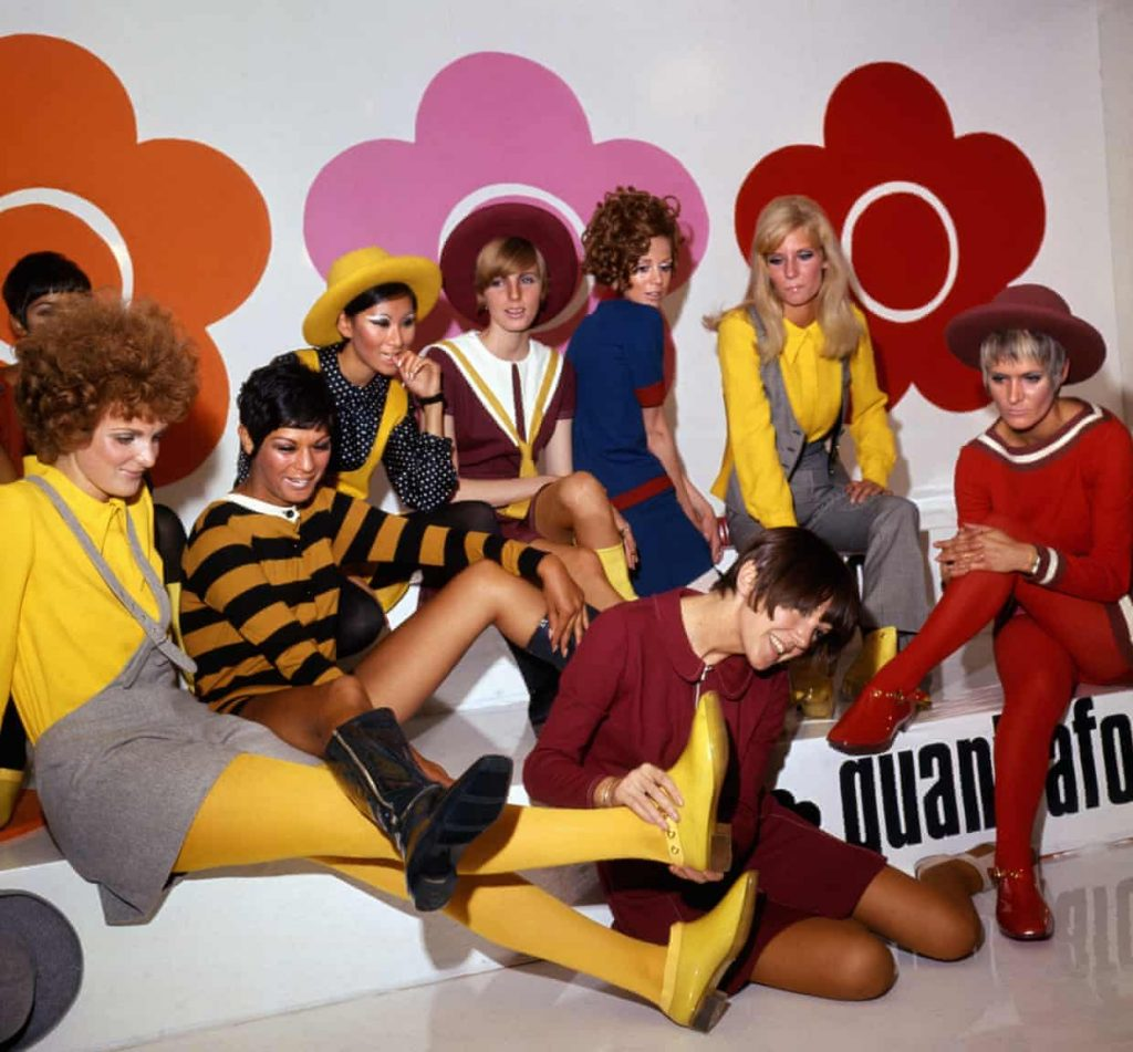Mary Quant footwear collection in 1967