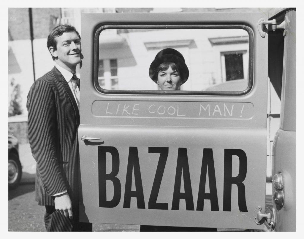 Mary Quant at Bazaar, the boutique that started it all