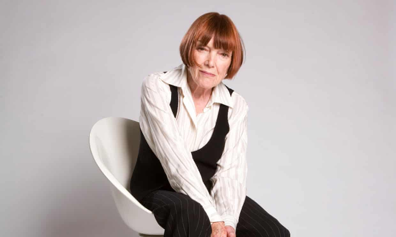 Fashion designer Mary Quant