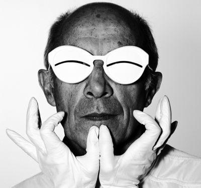 Fashion designer André Courrèges
