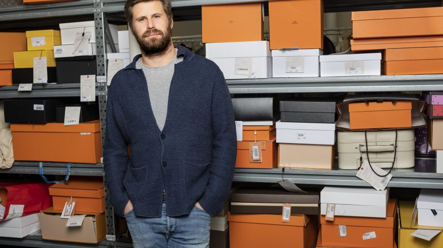 Max Bittner, the CEO of Vestiaire Collective